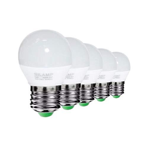 Bombilla E27 LED 6W 220V G50 220° (Pack de 5)