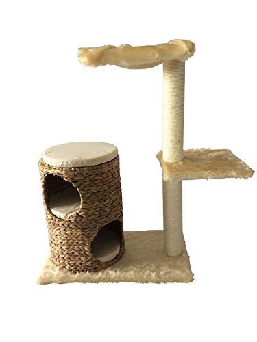 animal-design Katzenbaum Turm (60012.100) Kletterturm für Katzen Kratzbaum ca. 87 cm Höhe