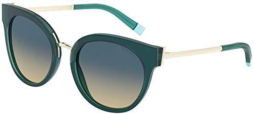 Tiffany Occhiali da Sole TF 4168 GREEN/BLUE YELLOW SHADED 54/20/140 donna