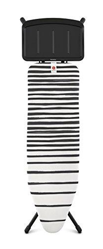 Brabantia Mesa Tabla De Planchar, Acero, Fading Lines, 124 X 38 Cm