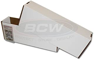 BCW Super Vault (For Graded Cards) - Corrugated Cardboard Storage Box - Baseball, Football, Basketball, Hockey, Nascar, Sportscards, Gaming & Trading Cards Collecting Supplies