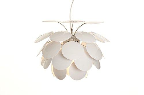 Marset 53 Discoco-Lampe, ABS/Aluminium, Weiß