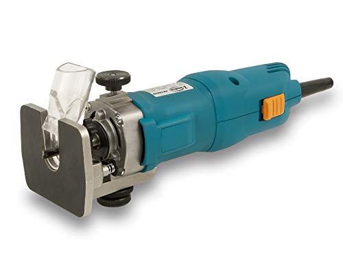VIRUTEX 9200800 9200800-Fresadora FR182VG 230V 1000W Pinza 6mm 30.000 RPM 1,8 Kg, Negro