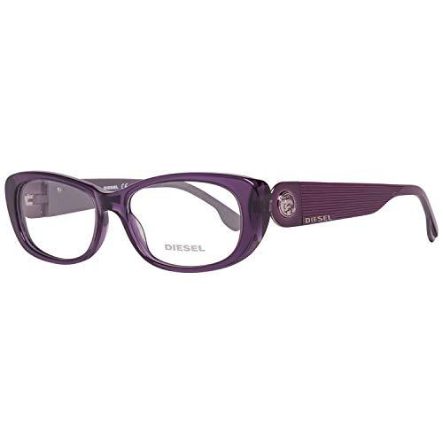 Diesel Brillengestelle DL5029 52081 Rechteckig Brillengestelle 52, Violett