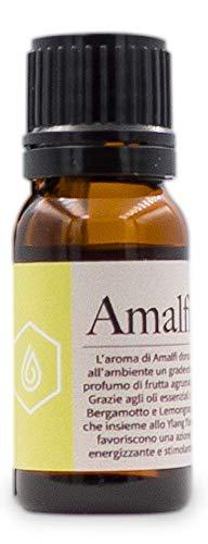 Amalfi – Aceite esencial purificante – Aceite esencial para difusores, esencia que favorece el bienestar y la relajación – Fragancia Amalfi