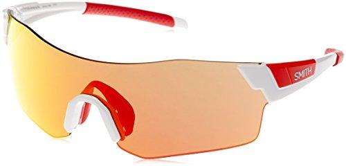 SMITH Pivlock Arena/N X6 Vk6 99 Gafas de sol, Blanco (White/Red Marl CP), Unisex Adulto
