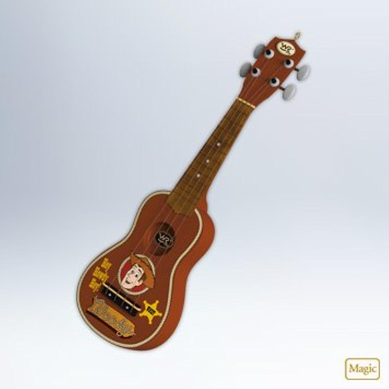 手数料効果的にオープニングHallmark 2012?Keepsake Ornaments qxd1064?Woody 's Roundup Guitar ~トイストーリー