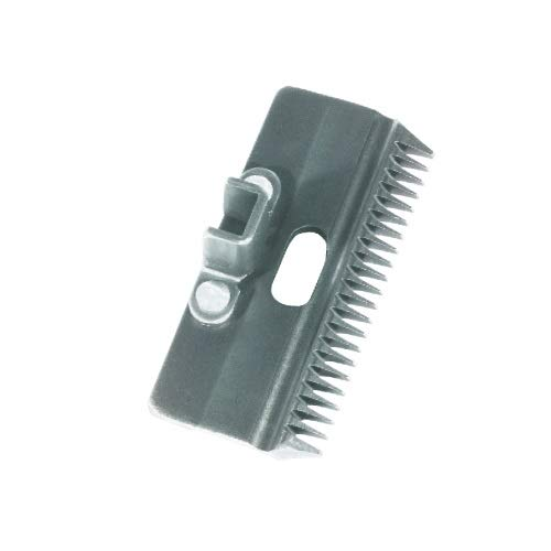 Hauptner 86863000 Standard-Oberkamm 22 Zähne, 3 mm Schnitthöhe (Rind), Silber
