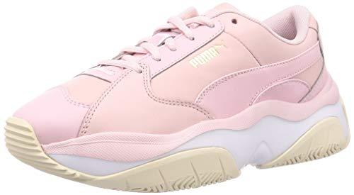 PUMA Storm.Y L Wns Sneakers Rosa Bianco Beige 372166-01 (37 - Rosa)