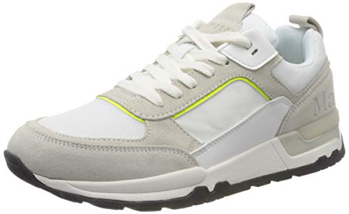 Marc O'Polo Herren 00125513501315 Sneaker, Weiß (White 100), 42 EU