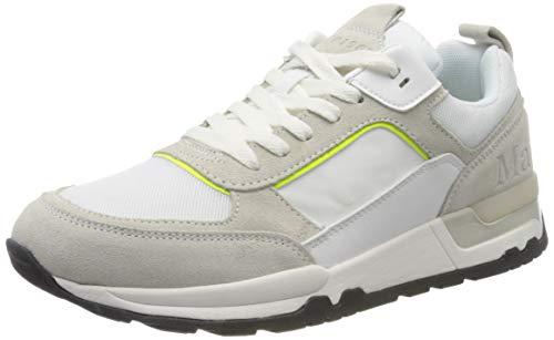 Marc O'Polo Herren 00125513501315 Sneaker, Weiß (White 100), 46 EU