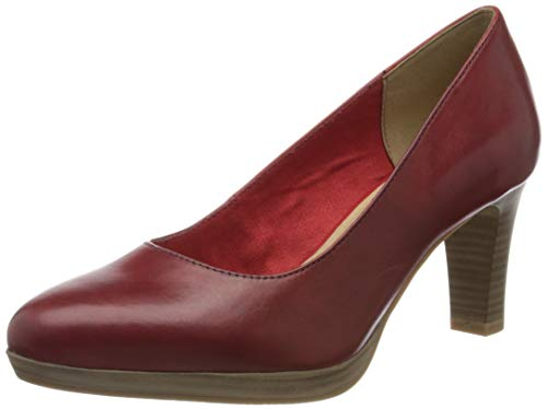 Tamaris Damen 1-1-22410-24 Pumps, Rot (Chili 533), 39 EU