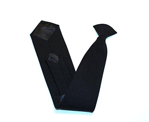 Krawatte zum Anstecken, Schwarz