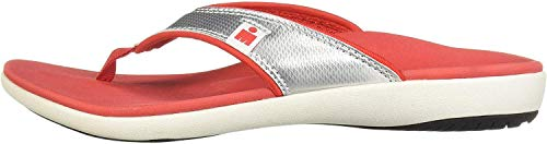 IRONMAN Damen HOA Sandal Flipflop, Chrome Rosso, 35.5 EU