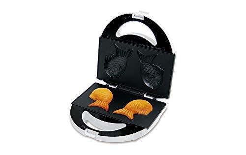 LITHON(ライソン)D-STYLISTたい焼きメーカーKDHS-010W|たい焼き器おすすめ鯛焼き型|おうちで手軽になつかしの味