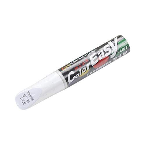 Penna per la riparazione dei graffi per vernice, Pennarello per ritocco 1 confezione, Penne per rimuovere i graffi, Riempi i piccoli graffi, Rimuovi la vernice per graffi per auto, camion (bianco)