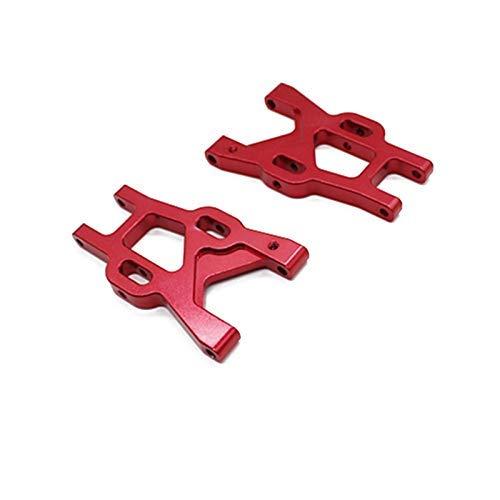 V-MAXZONE Duradero, 2 piezas de brazo oscilante actualizado para 1/8 RC Car Motorcycle repuestos accesorios de coche (color: azul) (color: rojo)