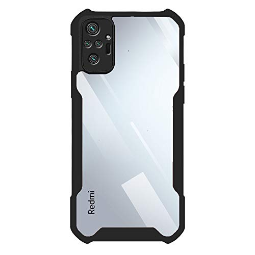 Brussel Transparent Back Cover Case for Redmi Note 10 Pro/ 10 Pro...