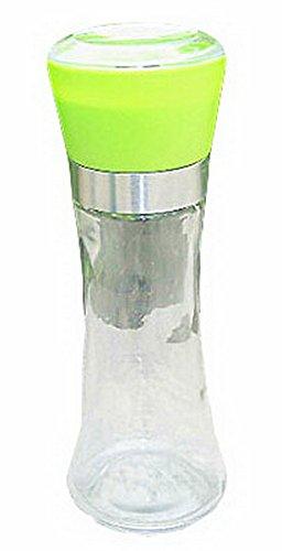 Set de 3 Home Fashions contemporain Poivre et sel Grinder (vert) 6 * 18.5cm