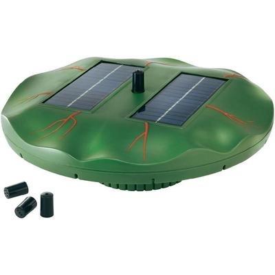 "Esotec Schwimmende Solar-Teichpumpe ""Seerose"" 101770"
