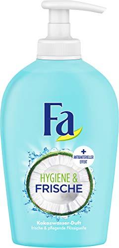 FA Flüssigseife Hygiene & Frische mit Kokoswasser-Duft, 6er Pack (6 x 250 ml)