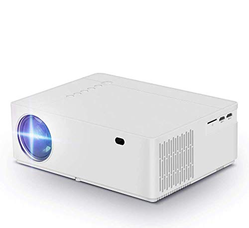 Native 1080p Projector, hmovie 4K Support Full HD Video Projector, 6000 Lux, 8000:1 Contrast Ratio, ±50° Horizontal…>