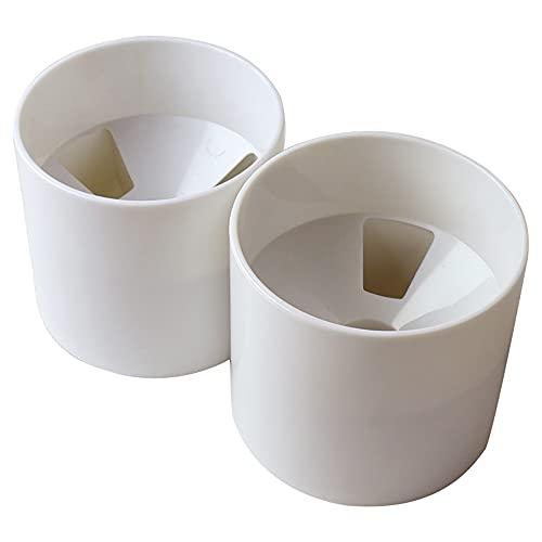 Golf Hole Cup Plástico ABS Desmontable Putting Green Hole Cup Embudo Ventilador Aspa Diseño de drenaje Accesorios de golf para asta de bandera