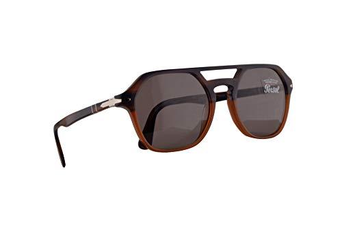 Persol 3206-S Sonnenbrille Orange Blaue Mit Grauem Gläsern 54mm 1066R5 PO 3206S PO3206S PO3206-S