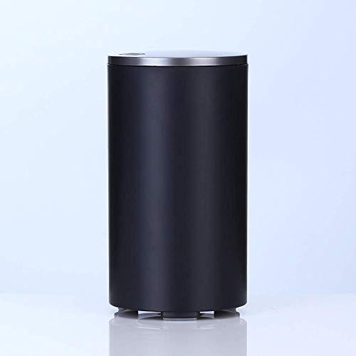JY&WIN Difusor de aceites Esenciales, humidificador de Aroma cilíndrico USB purificador de Aire para el hogar/Oficina/automóvil, Negro
