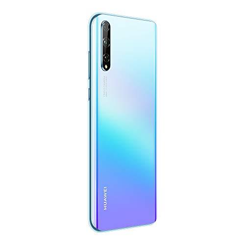 Huawei P smart S Smartphone (6.3', 4/128 Go, Double Nano SIM EMUI 10.1 & AppGallery), Triple Caméra avec Capteur Principal de 48MP, Breathing Crystal [Version Française] + Giftcard