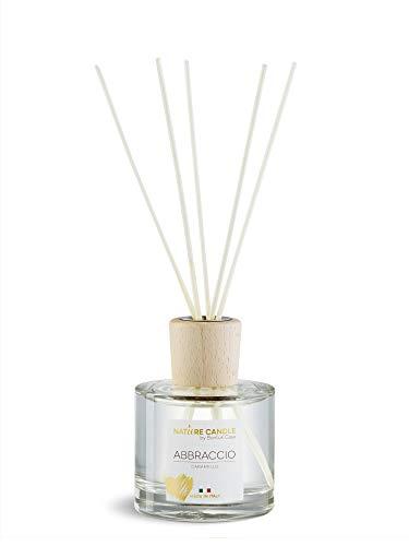 Bonturi Casa 20254312 - Ambientador de Ambiente, Cristal de Madera, Transparente y Natural, 8 cm