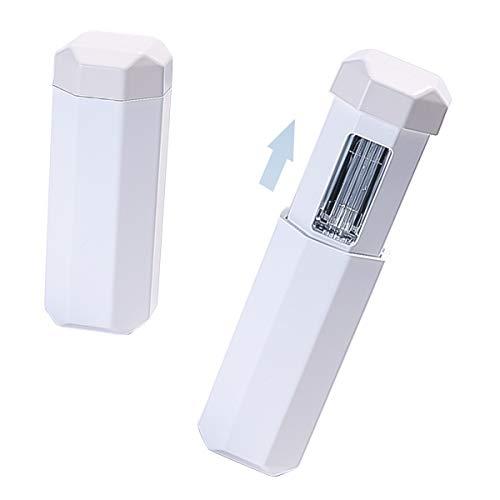 DERCLIVE Desinfectante de Mano Uv Esterilizador Lámpara de Luz Desinfectante de Ozono Recargable Varita de Esterilización Ultravioleta