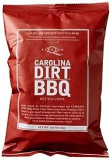 Lillie's Q Carolina Dirt BBQ Seasoned Kettle Chips 1.25 ounces Pack of 40