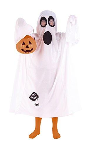 Rubies Disfraz Infantil - Ghost Trick - Disfraz ghostrick blanco halloween