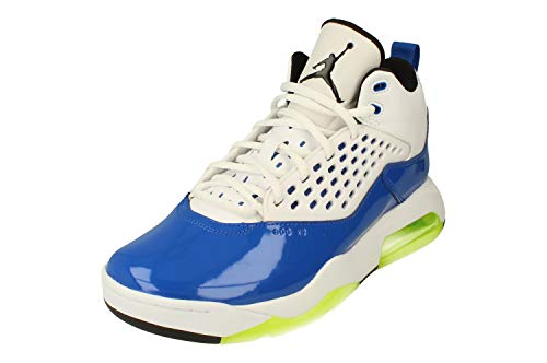 Nike Air Jordan Maxin 200 Hombre Basketball Trainers CD6107 Sneakers Zapatos (UK 9 US 10 EU 44, Game Royal Volt Black White 400)