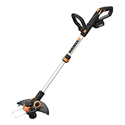 in budget affordable WORX WG163 GT 3.0 20V PowerShare 12 Cordless Line Trimmer  Cutter 12″