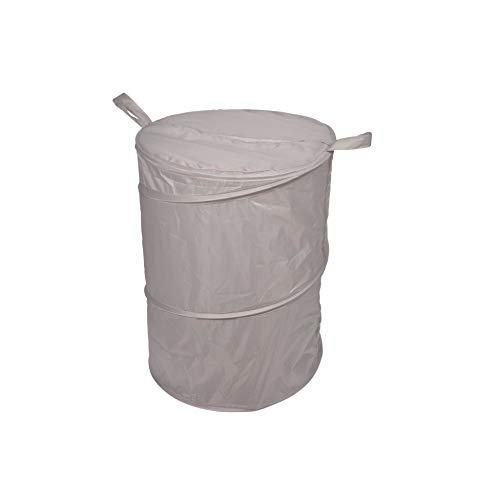 Bain 53980 wasmand popup deksel polyester 38 x 50 cm vitamine taupe één maat