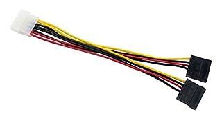 AKORD LP4 to 2 SATA Internal Power Splitter Cable (B0048OHTGM) | Amazon price tracker / tracking, Amazon price history charts, Amazon price watches, Amazon price drop alerts
