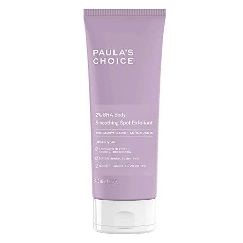 Paula's Choice 2% BHA Exfoliant Corps - Peeling Élimine les Cellules Mortes & Réduit les Rougeurs - pour Peau Douce & Lisse - avec Acide Salicylique et Camomille - Tous Types de Peaux - 210 ml