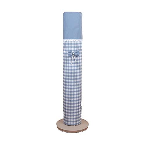 YiShuHua Torre de la Tapa del Ventilador, Cubierta Polvo Ventilador Torre, Torre Todo Incluido Vertical con Bolsillo, eléctrico Universal (Color : A, Tamaño : Skirt)