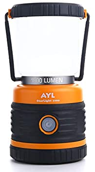 LED Camping Lantern Battery Powered LED 1800LM 4 Camping Lights Modes Perfect Lantern Flashlight for Hurricane Emergency Light Storm Power Outages Survival Kits Hiking Fishing Home and More