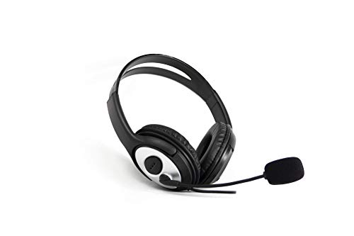 Auriculares C/MICROFONO COOLBOX COOLCHAT Jack-3.5MM Negro