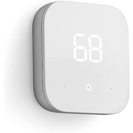 Introducing Amazon Smart Thermostat – ENERGY STAR certified, DIY install, Works with Alexa – C-wire required