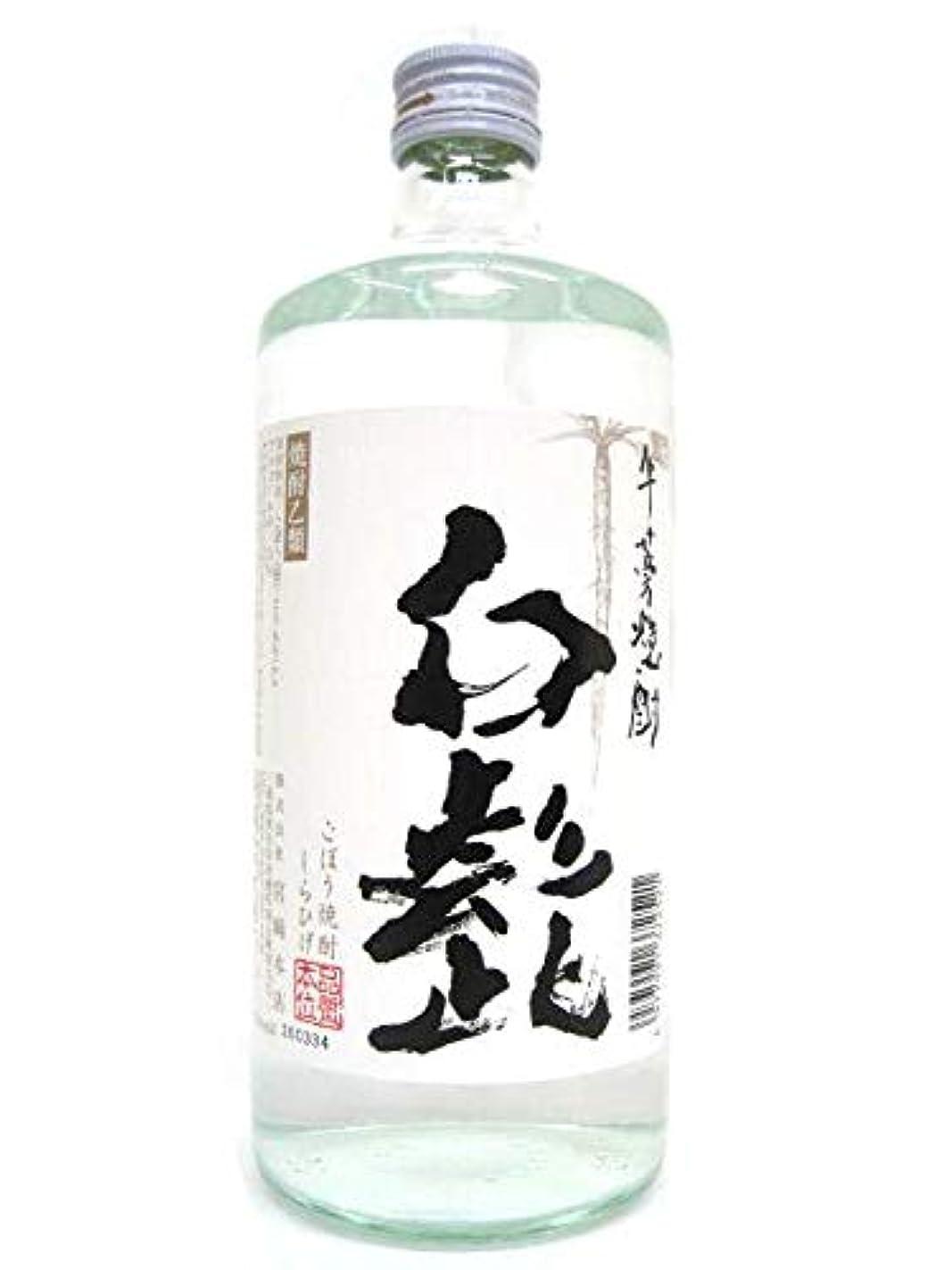 遅れ遠洋の暴力的な宮崎本店 白髭(しろひげ) 牛蒡(ごぼう)焼酎 25度 720ml