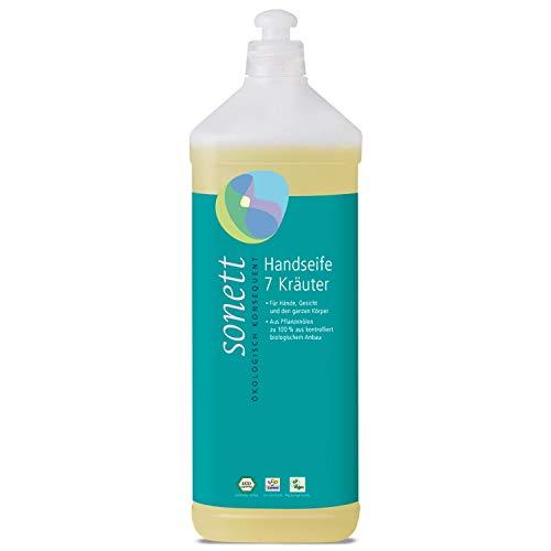 Sonett Bio Handseife 7 Kräuter (1 x 1000 ml)