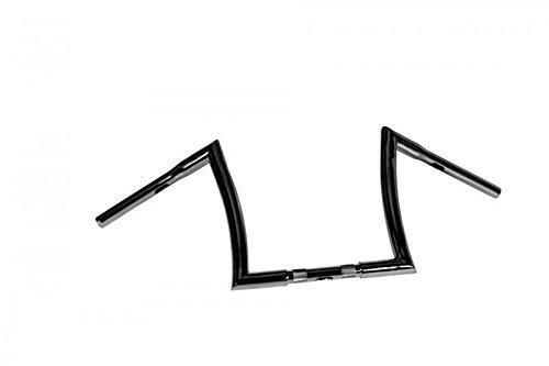 HIGHWAY HAWK Lenker Bad Ape hanger 12 Zoll 32mm, schwarz