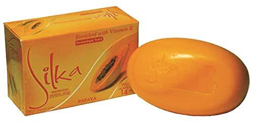 Silka Papaya & Herbal Soap 6 X 135G by SILKA