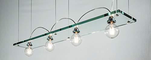 Lumières de juge à LED avec ampoule à filament Globe 6 W Transparent/transparent
