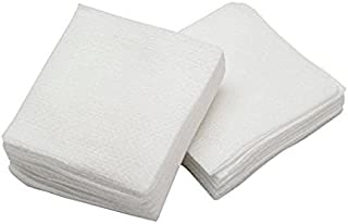 4x4 cotton esthetic wipes