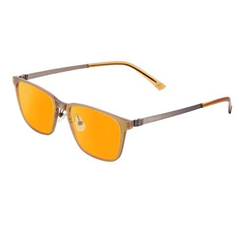 PRiSMA FRANKFURT PRO99 Blaulichtfilter-Brille - Bildschirmzeit ohne Kopfschmerzen - FF709